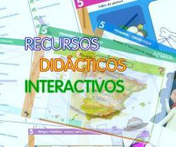 Aplicaciones interactivas anaya para todas las etapas de primaria