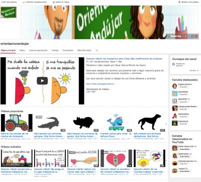 Nuestro canal de youtube supera los 3 Millones de visitas ORIENTACION ANDUJAR