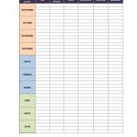 Calendario de reuniones y horarios SECUNDARIA  IMAGEN 1