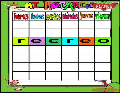 plantilla horario horario planes 6 horas 2