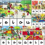 Aprendemos las vocales y trabajamos la motricidad con estos puzzles divertidos imagen destacada