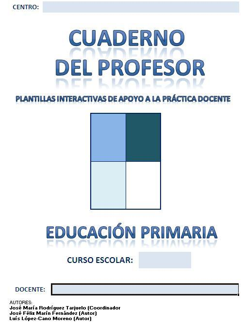 Cuaderno del profesor completo en excel listo para usar primaria ...