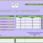 Cuaderno digital del profesorado V9. Ramón José Gavilán
