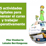 Conjunto de Actividades TIC para comenzar el curso escolar de forma cooperativa