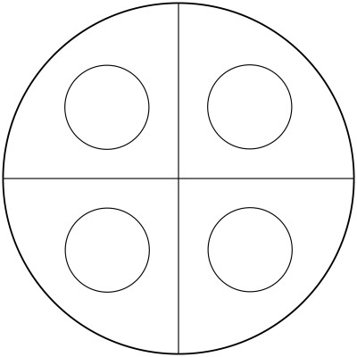 Mandala  de circulos 1