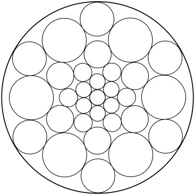 Mandala  de circulos 10