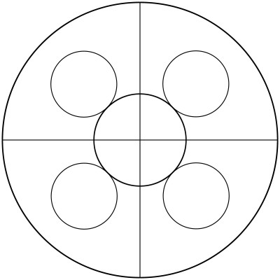 Mandala  de circulos 2
