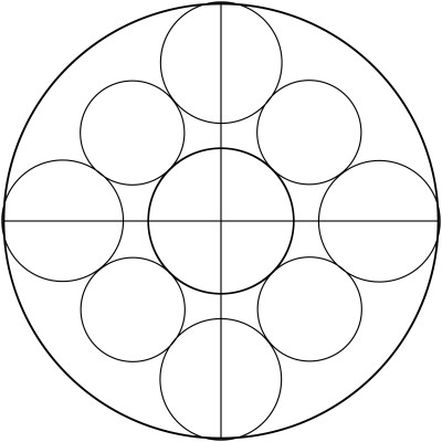 Mandala  de circulos 3
