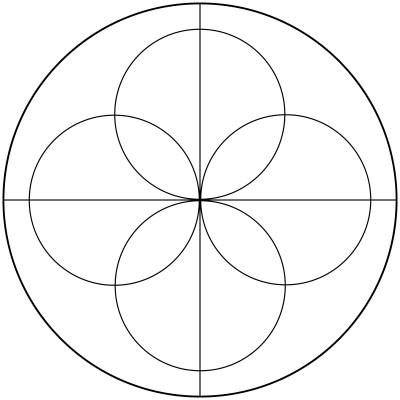 Mandala  de circulos 4