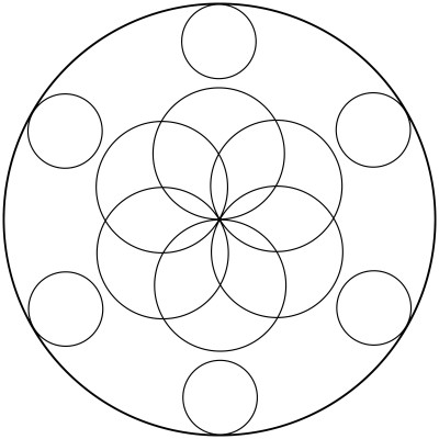 Mandala  de circulos 6