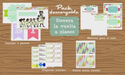 Pack para decorar el aula para la vuelta a clases 2