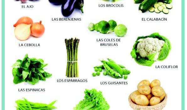 Nombre de verduras y hortalizas - Imagui