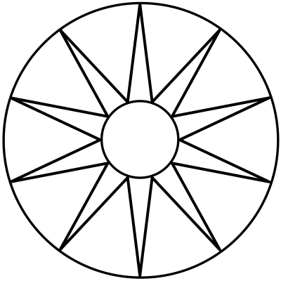 mandala estrella 5