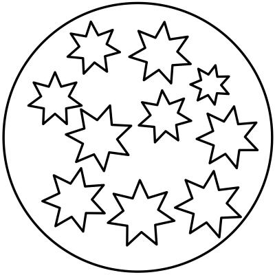 mandala estrella 7
