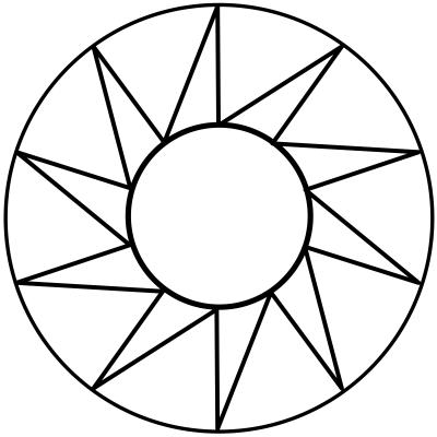 mandala estrella 8
