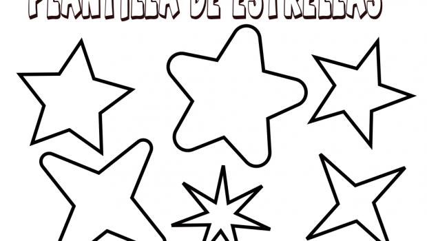 Plantilla para estrellas - Plantilla estrella navidad ...