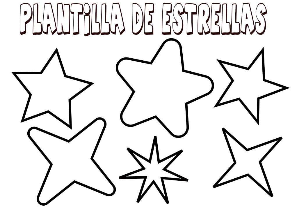 Plantillas Estrellas Para Decorar.Plantilla Para Estrellas Orientacion Andujar Recursos