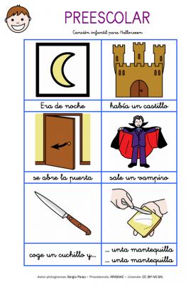 Fichas y actividades para Halloween recopilatorio