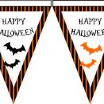 banderines halloween 2014