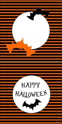 tarjetas mesas halloween 2014