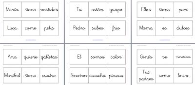En Blanco Y Negro El Libro Móvil De Las Frases 3 Palabras