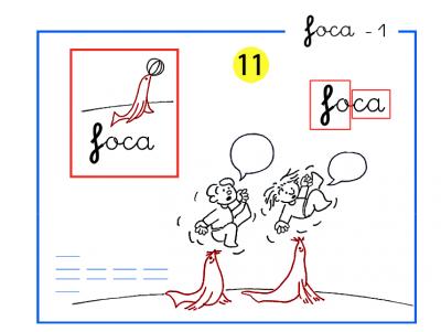 Completo método de lectoescritura paso a paso letras f de foca