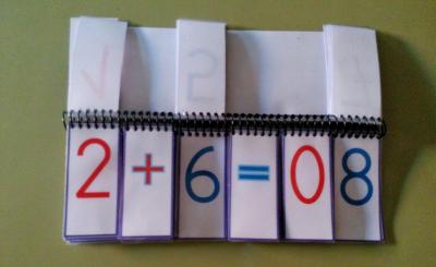 Material Manipulativo El libro movil de las operaciones básicas 2