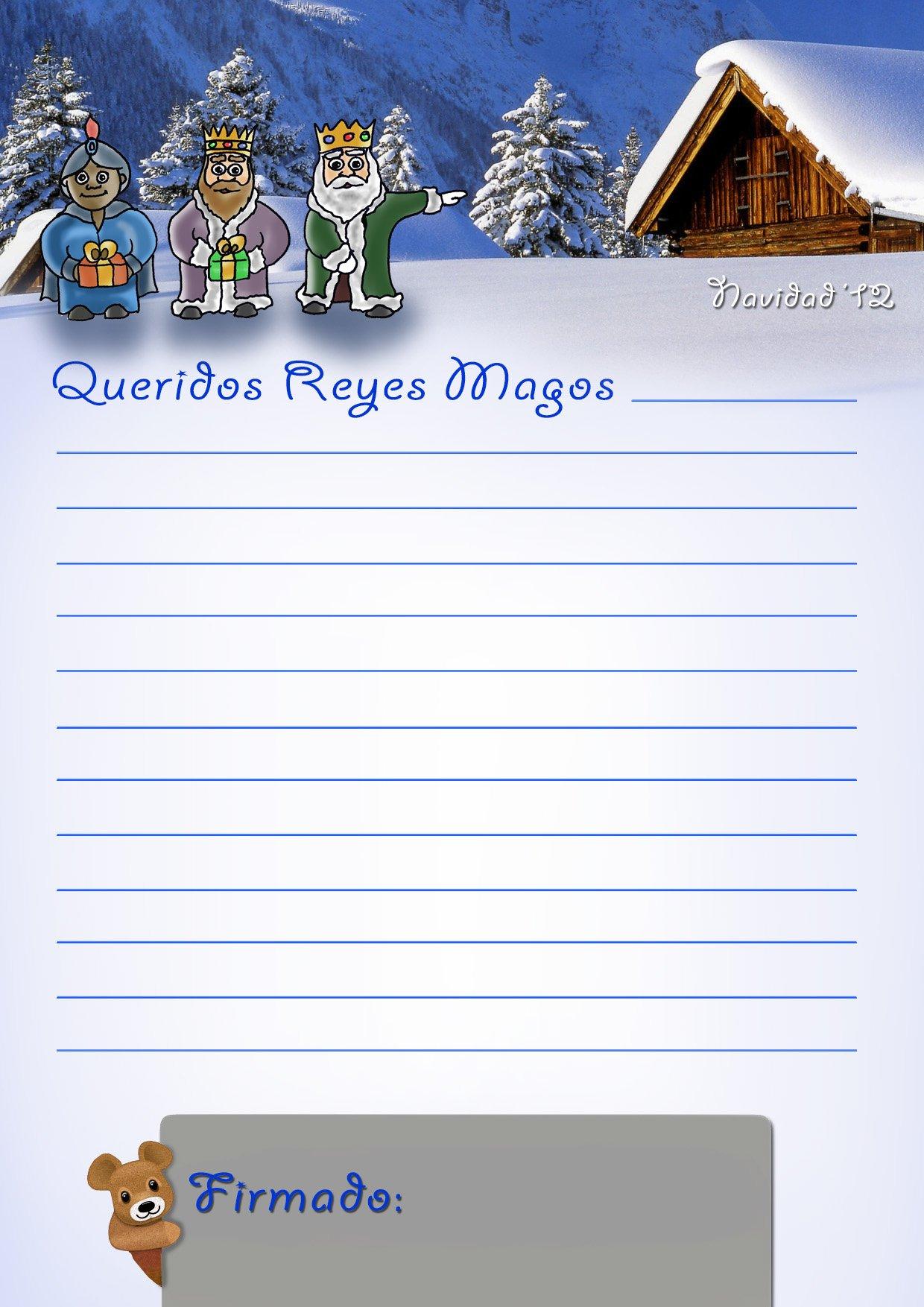 Worksheet. Recopilatorio de diseos de cartas para los Reyes Magos