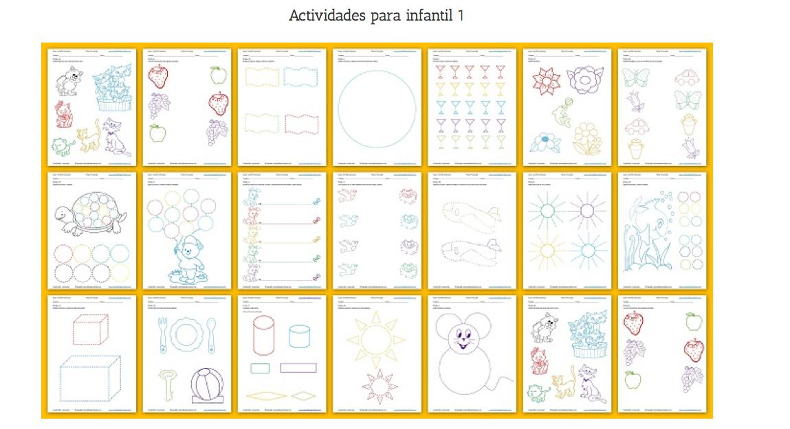 Cuadernillo de actividades de educación preescolar 1 Actividades ...