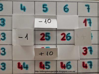Crucinumeros aprendemos los numeros de 1 al 100 imagen 2