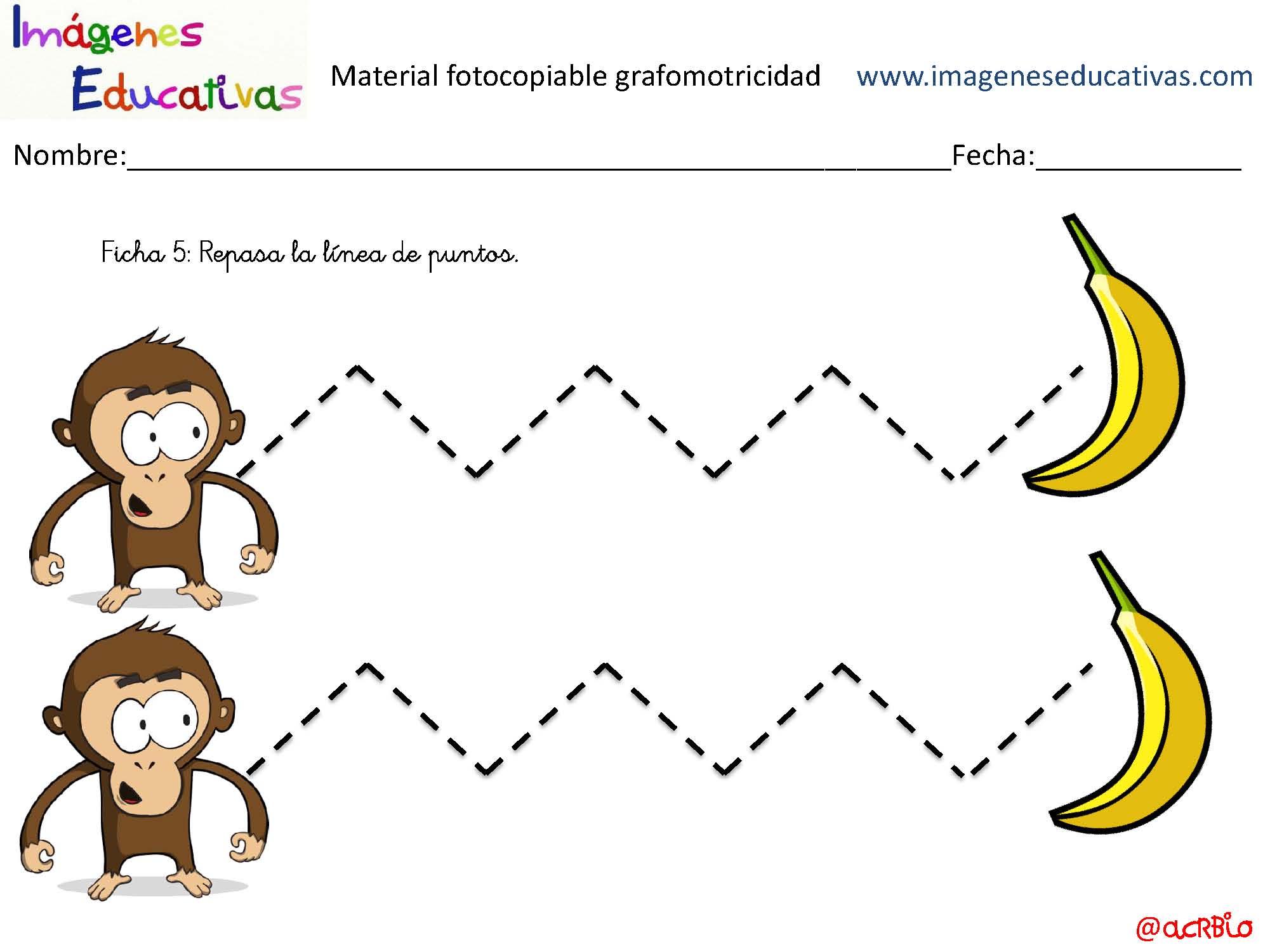 Libreta De Dibujo Con Dibujos Infant: Cuadernillo-Grafomotricidad-I_Página_06