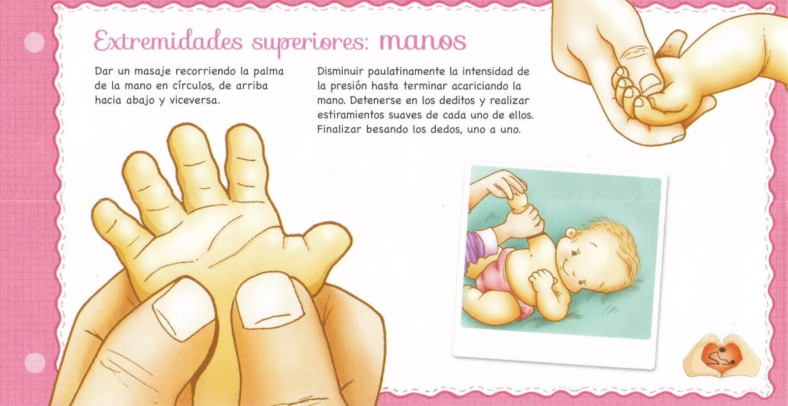 Resultado de imagen de estimulación temprana masajes