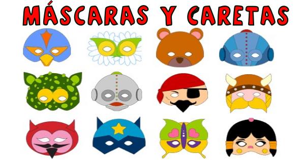 mascaras y caretas - Orientación Andújar - Recursos Educativos