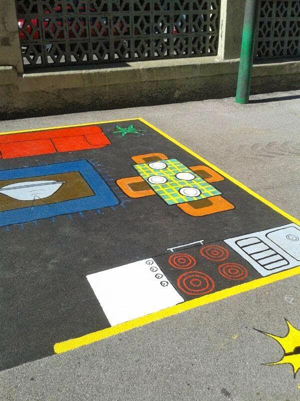 Juegos patio colegio orientaci n and jar recursos - Orientacion de un piso ...