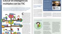 Hoy ha llegado a nuestro cole la revista Educación 3.0en la cual publican un completo artículo sobre nuestra forma de trabajar las Inteligencias Múltiples dentro de nuestras aulas con la […]