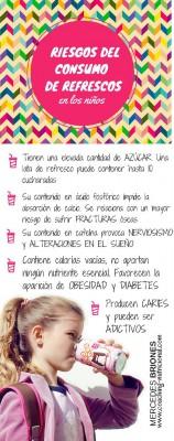 RIESGOS DEL CONSUMO DE REFRESCOS EN LOS NIÑOS con Mercedes Briones nuestra Coaching nutricional