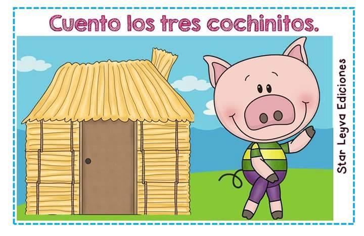 Tarjetas Imprimibles Cuento De Los Tres Cochinitos Orientacion Andujar