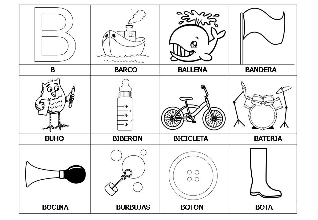 El Abecedario De Los Objetos Listo Para Imprimir (3