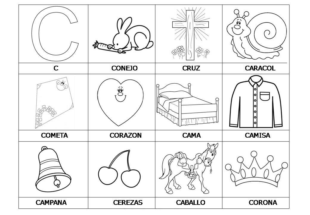 El abecedario de los objetos listo para imprimir 4  Orientacin