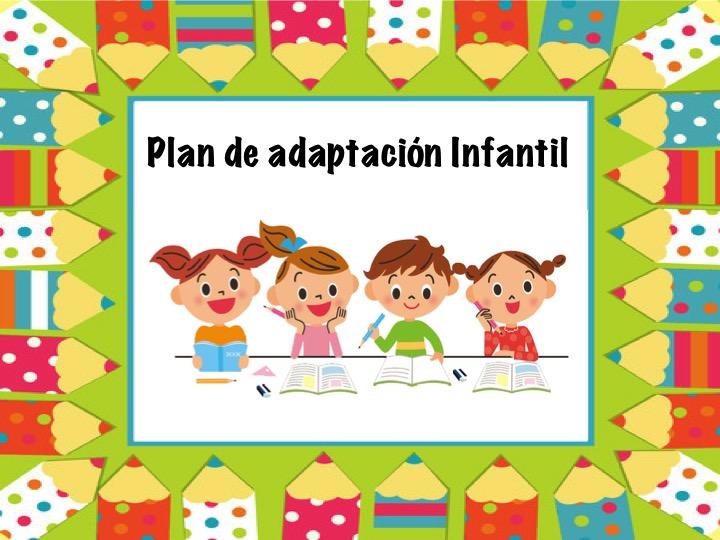 Resultado de imagen de periodo de adaptacion infantil