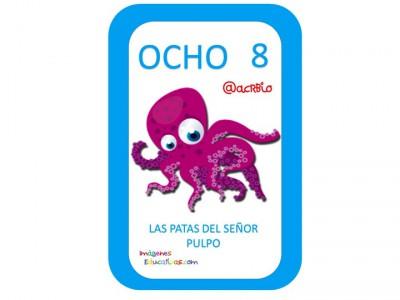 Aprendemos los números del 1 al 10 en español de forma divertida Video, láminas, Bits25