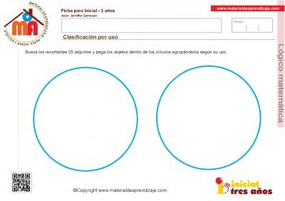 Colección de ficha para trabajar razonamiento Lógico matemático educación Infantil24