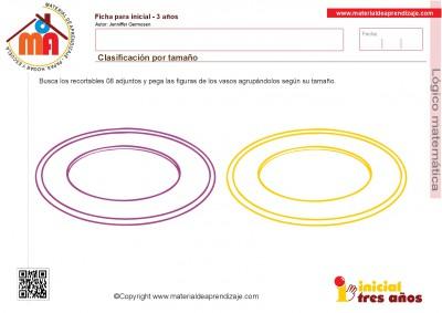 Colección de ficha para trabajar razonamiento Lógico matemático educación Infantil28