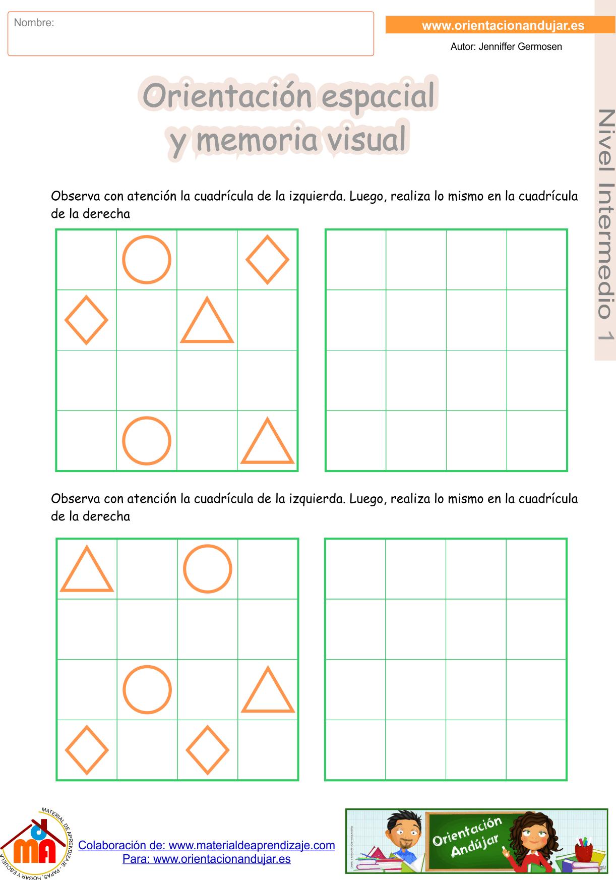 Super cuadernillo n 2 de orientaci n espacial y memoria for Habitacion para adultos completa barata