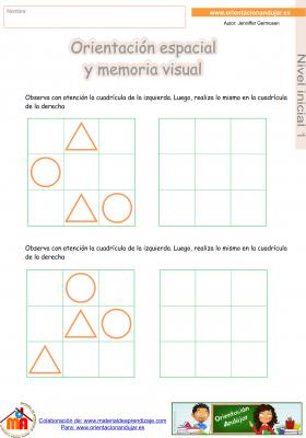 06 inicial 1 orientaci¢n espacial y memoria visual