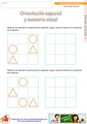 07 inicial 1 orientaci¢n espacial y memoria visual