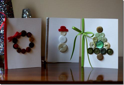 Sencillas tarjetas de navidad para hacer en clase - Hacer postales navidad ...