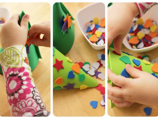 Colecci n de manualidades navide as para ni os sencillas y - Manualidades divertidas para ninos ...