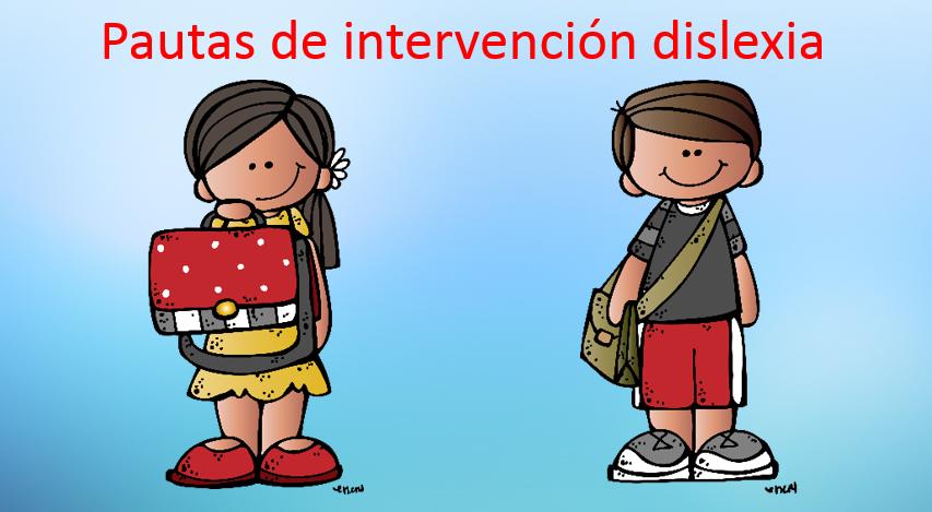 Dislexia Pautas De Intervencion Orientacion Andujar Recursos Educativos
