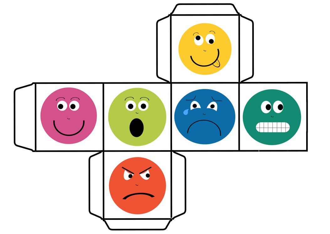 Educación Para Las Emociones Jugamos Con Otro DADO DE LAS